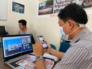 in 3D tai giả tặng học viên